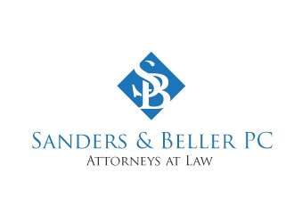 Sanders & Beller PC Attorneys at Law logo design by XeonGraphics