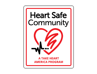 Take Heart America logo design