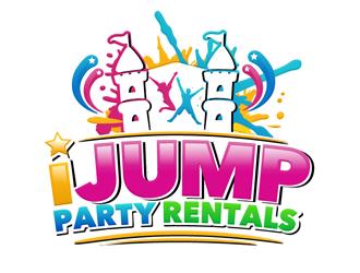 IJUMP PARTY RENTALS logo design winner