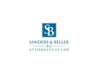 Sanders & Beller PC Attorneys at Law logo design by Barkah