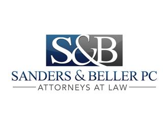 Sanders & Beller PC Attorneys at Law logo design by kunejo