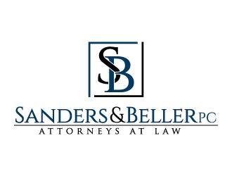 Sanders & Beller PC Attorneys at Law logo design by jaize