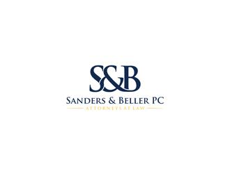 Sanders & Beller PC Attorneys at Law logo design by ndaru