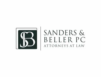 Sanders & Beller PC Attorneys at Law logo design by Mahrein