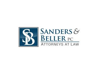 Sanders & Beller PC Attorneys at Law logo design by Lavina