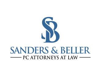 Sanders & Beller PC Attorneys at Law logo design by done