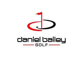 Daniel Bailey Golf  logo design