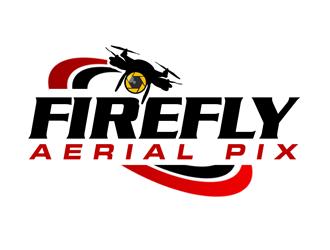 Firefly Aerial Pix logo design
