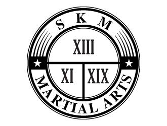 SKM MARTIAL ARTS logo design by Suvendu