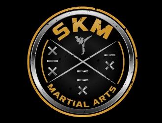 SKM MARTIAL ARTS logo design by art-design