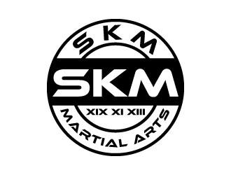 SKM MARTIAL ARTS logo design by daywalker