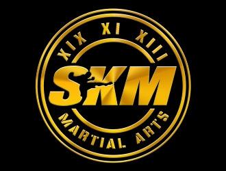 SKM MARTIAL ARTS logo design by Benok
