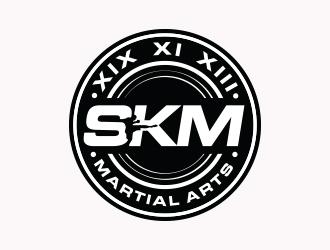 SKM MARTIAL ARTS logo design by Eliben