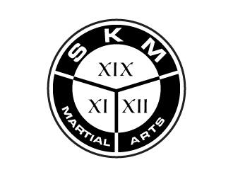 SKM MARTIAL ARTS logo design by usef44