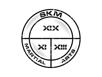 SKM MARTIAL ARTS logo design by ekitessar