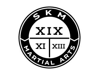 SKM MARTIAL ARTS logo design by jaize