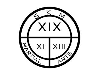 SKM MARTIAL ARTS logo design by mckris