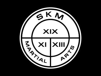 SKM MARTIAL ARTS logo design by done
