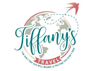 Tiffanys Travel logo design