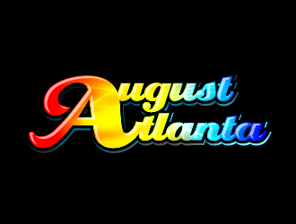 August Atlanta logo design
