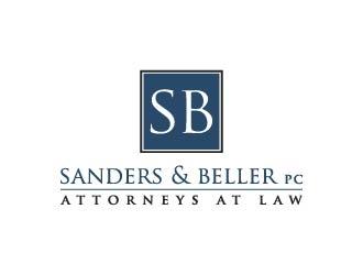Sanders & Beller PC Attorneys at Law logo design