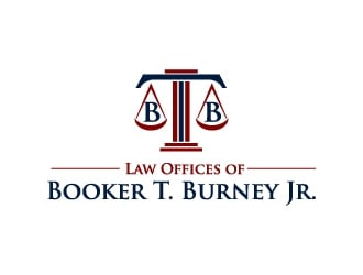 Law Offices of Booker T. Burney Jr.  logo design