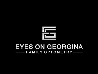Eyes On Georgina -  Family Optometry logo design