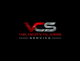 Velocity Claims Services logo design