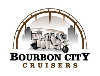 Bourbon City Cruisers logo design