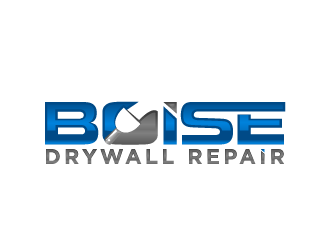 Boise Drywall Repair  logo design