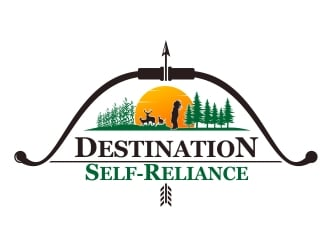 Destination Self-Reliance logo design
