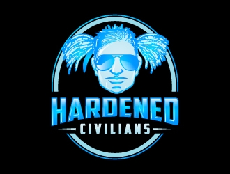 Hardened Civilians logo design