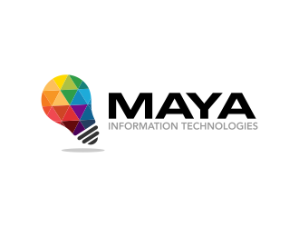 Maya Information Technologies logo design