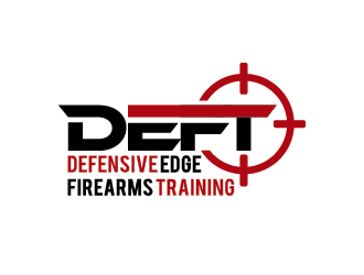 Defensive Edge Firearms Training logo design