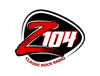 Z104 logo design