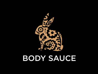 Body Sauce - rabbit is the logo logo design