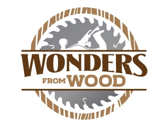 Wonders from Wood logo design