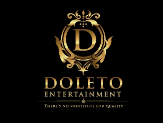 Doleto Entertainment logo design