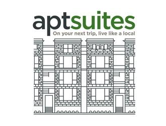 aptsuites logo design