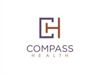 Compass Health logo design