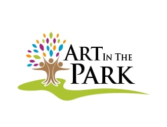Art in the park logo design