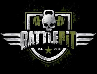 Battle Pit logo design
