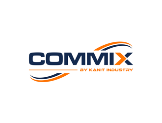 COMMIX BY KANIT INDUSTRY logo design
