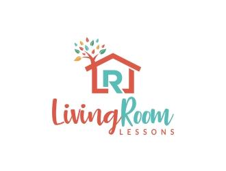 Living Room Lessons logo design