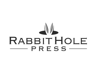 Rabbit Hole Press logo design