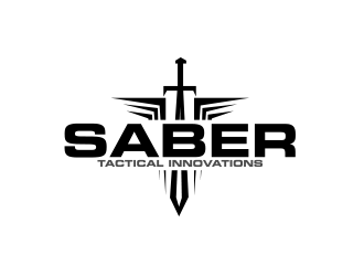 Saber Tactical Innovations logo design