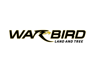 Warbird Land and Tree logo design