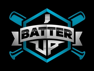 Batter Up logo design