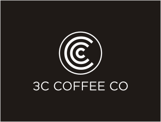 3C Coffee Co logo design