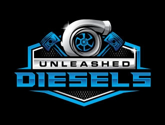Unleashed Diesels logo design
